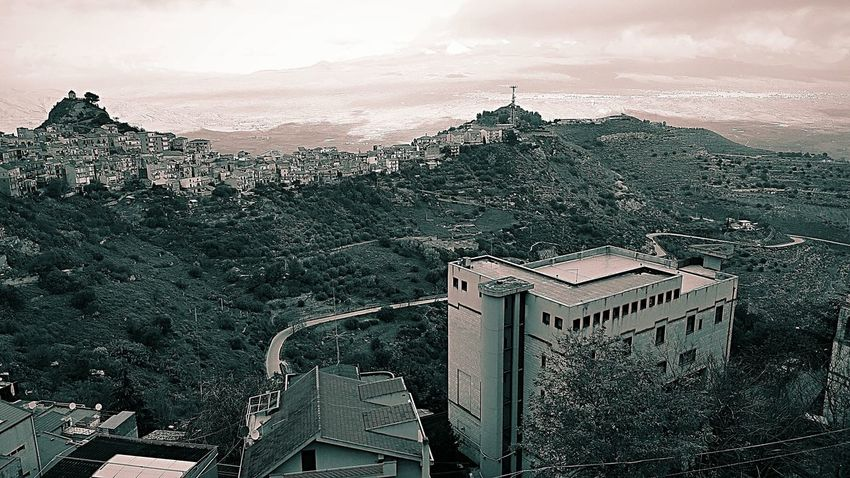Beauty In Nature Beautiful Belvedere Nature Nature_collection Nature Photography Naturelovers Nature On Your Doorstep Natural Condition Cityscape Sky Vista Panorámica Vista Dall'alto Galaxy Mountain Sicilian Art Tramonti_italiani Black And White Collection  Blackandwhitephotography 😎👊