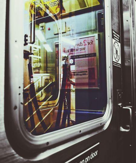 Subway Door NYC