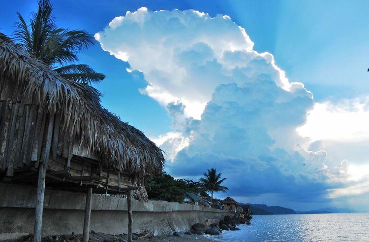 Cloud - Sky Water Outdoors Sea The Great Outdoors - 2017 EyeEm Awards EyeEm Best Shots - Nature EyeemPhilippines Summer Clouds Blue