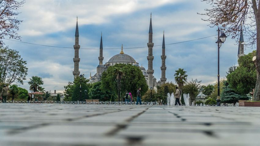 Sultan Ahmet Camii - Blue Mosque Architecture Blue Mosque Building Exterior Built Structure Cami City EyeEm Best Edits EyeEm Best Shots EyeEm Gallery Istanbul Mimari Outdoors Religion Sky Sony A6000 Sultan Ahmed Mosque Travel Destinations Trvael Turkey Türkiye
