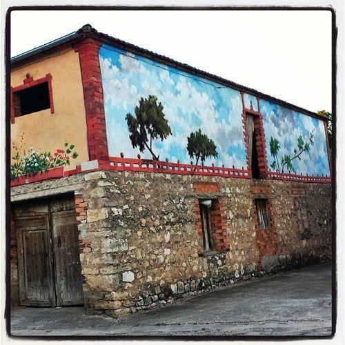 Elguijar Turegano Turismo España rural campo pintura arteydecoración