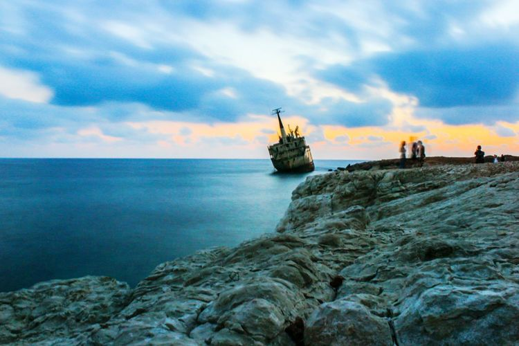 Pegeia Shipwreck EDRO EyeEm Best Shots - Long Exposure Sunset_collection