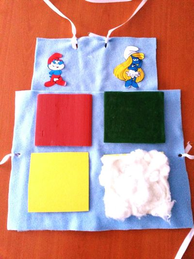 For Children Eye4photography  Sweet Make ıt Yourself Smurfs Sirinler Blue Mavi