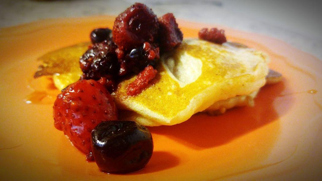 Breakfast ♥ Flapjacks Fruitporn Pancakes♥ Foodporn Summerfoods Eat Eat And Eat