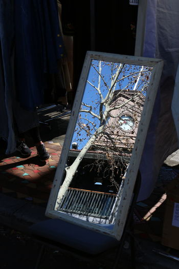 Surry Hills #Australia #leaves #autumn #mirror #mirror Reflection #reflection #reflections #silhouette #sky #streetphotography #surry Hills Market #sydney #the Clock Hotel #trees Day