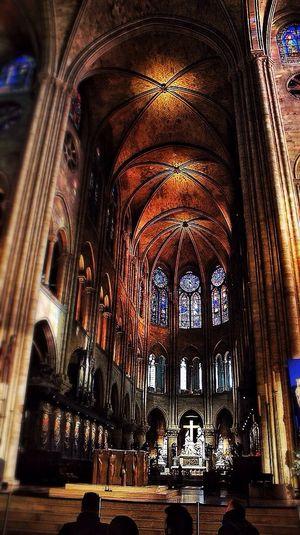 Paris Notre-Dame Architecture Art Taking Photos Building