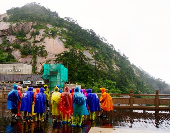 morning gathering under the rain, Haungshan mountain, China Traveling Landscape_photography Streetphotography Natural Rainy Days Mountains Taking Photos The Great Outdoors - 2015 EyeEm Awards