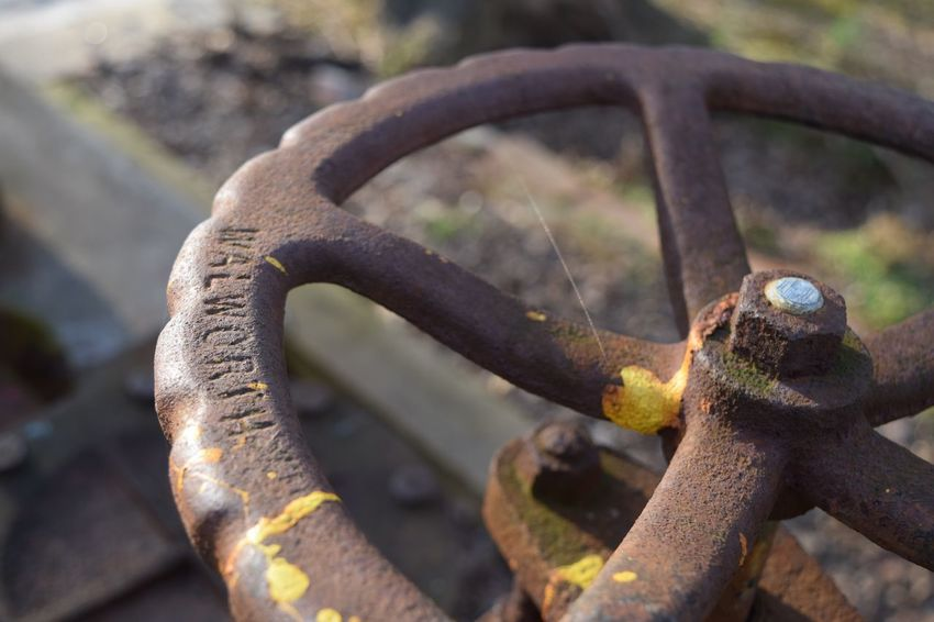 EyeEm Selects Rusty Beast Metal Rusty Damaged Focus On Foreground No People Run-down Weathered