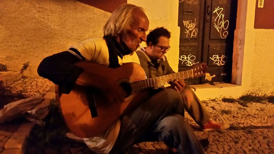 Acoustic Guitar Night Meeting Hasard Smoker Nightlife Lisboa 2015