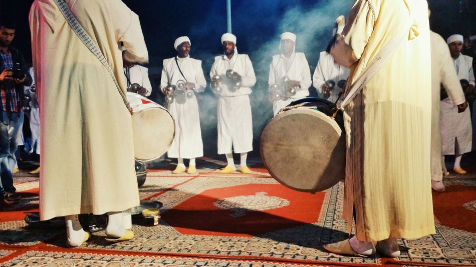 The Magic Mission Fog Maroc Morocco Gnawa TROUPE Music Instruments Travel Destinations Travelling Discovering Discover  Culture And Tradition Tribal Art