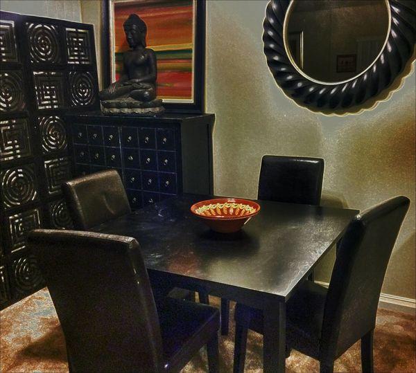 Timages Diningroom Home Homesweethome Buddah Dinner Table Chargers  Bachelorpad Bachelor