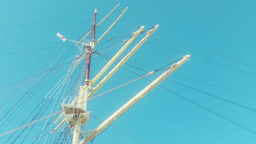 Baltic Sea Sailing Ship Mast Shanty Poland Sea And Sky Sealife Sailorlife Darpomorza