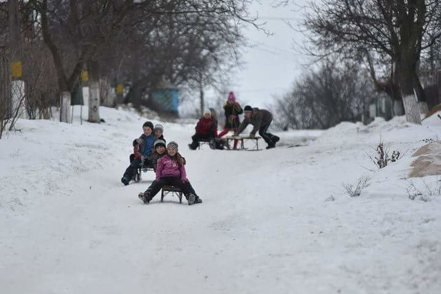 Cold Temperature Winter Snow Tradition Republic Of Moldova