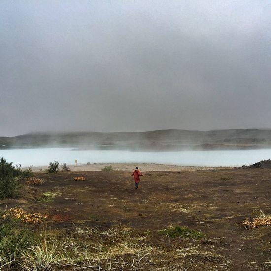 Explorer Icelandic Nature Wanderlust Geothermal Area