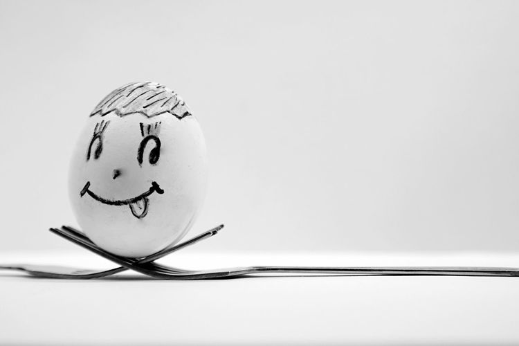 Happy :) Home Is Where The Art Is StillLifePhotography Egg Eggs... Cuttlery Smile Naughty Creativity Quote Simplicity Simpleegg Light And Shadow Light Pivotal Ideas Blackandwhite Black & White