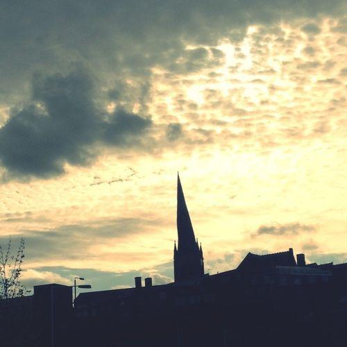 Bent spire? Check!