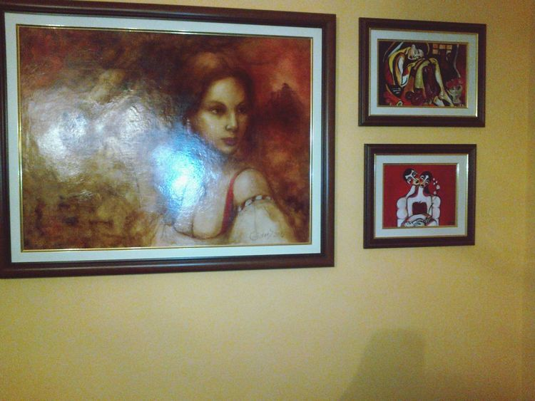Enjoying Life Oiloncanvas Oil Painting