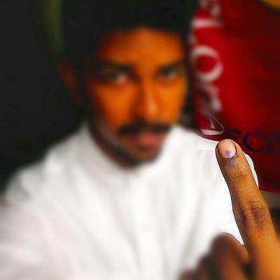 My 2ndvote VoteForAChange Instaproud Maharashtra Pune Puneinstagrammers Punekar Incredibleindia B-)