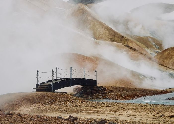 ‎⁨Hrunamannahreppur⁩ Iceland Hot Spring Power In Nature Beauty In Nature Scenics - Nature Physical Geography Steam Kerlingarfjöll Mountain Resort Mountain Landscape Nature Geology Water Heat - Temperature No People Non-urban Scene Outdoors First Eyeem Photo