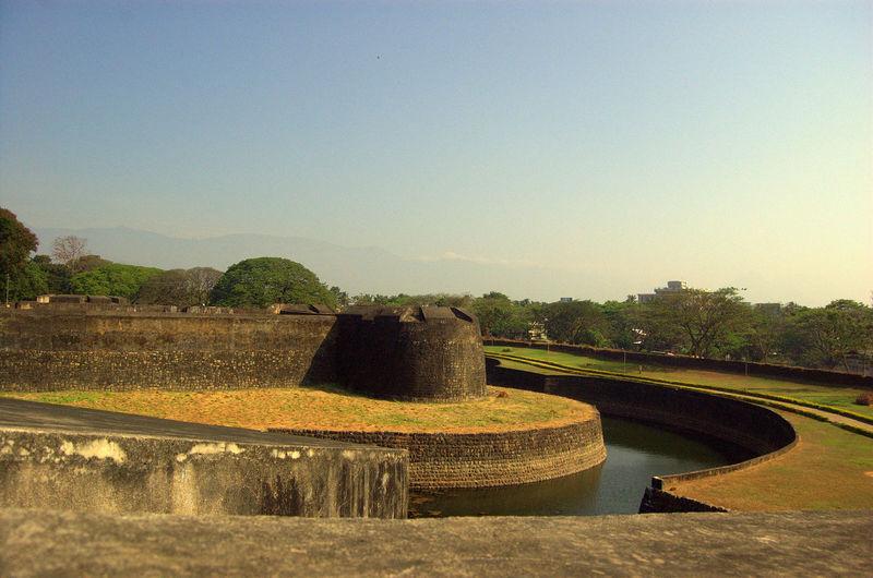 Palakkad fort against clear sky
