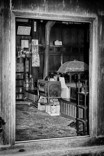 Gifu Prefecture Black And White Photography Japanese Culture Street Photography Japan Photography Japanese Style Japan Woodstove Traditional House EyeEm Best Shots - Black + White