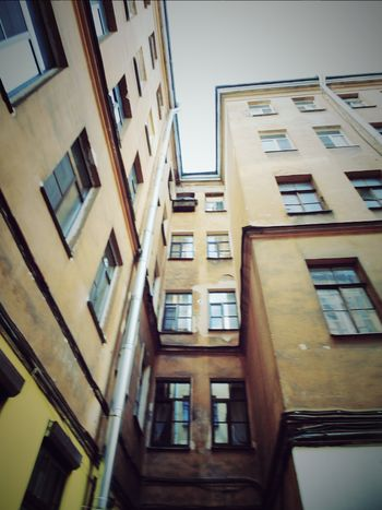 Buildingphotography Skycollection Old Buildings Sky_collection Architecture Russia, St.Petersburg Courtyard Of St. Peter