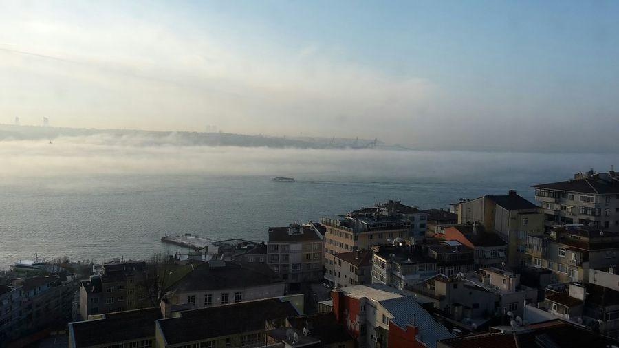 Istanbul - Bosphorus Sea And Sky