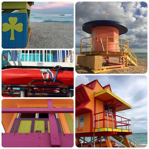 Lifeguard Station Lifeguard Tower Lifeguard_collection_miami_beach Lifesavers Miami Beach Miami Beach Lifeguard Collection Realchitect Lifeguards