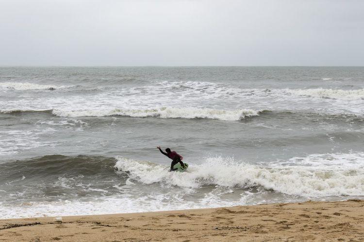 Surf no Inverno || Winter surf || Sea And Sky Surf Figueiradafoz Portugal