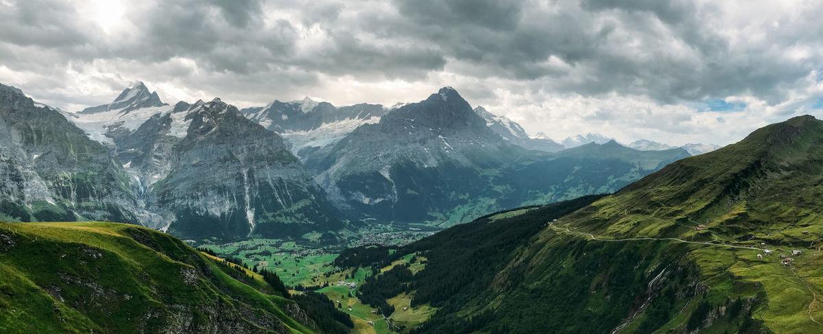 Skyline Switzerland Alps Switzerland. Switzerland🇨🇭 Alps Mountains Switzerland Switzerland2017 Switzerlandalps Switzerlandmountains Switzerlandpictures Switzerlandtrips Switzerlandwonderland Switzerland❤️