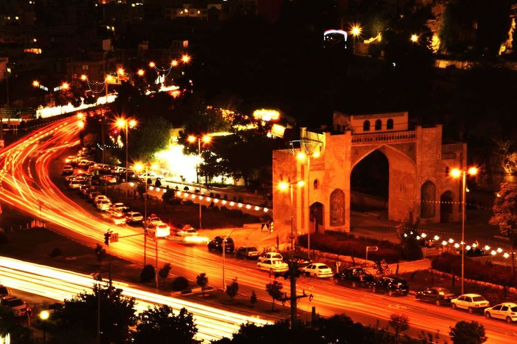 Summer Nights Night Illuminated Architecture Built Structure Outdoors Arch Travel Destinations Tree City No People Shīrāz Shiraz🍷 Iran