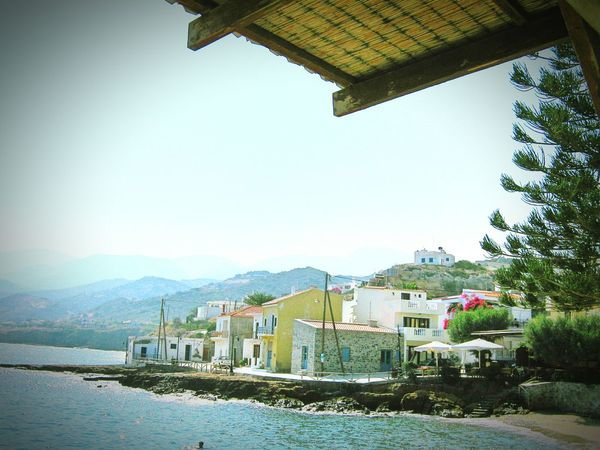 Taken by me on my old Canon camera back in September 2011. Summer Blue Wave Aegean Mochlos Crete Greece Europe 2011