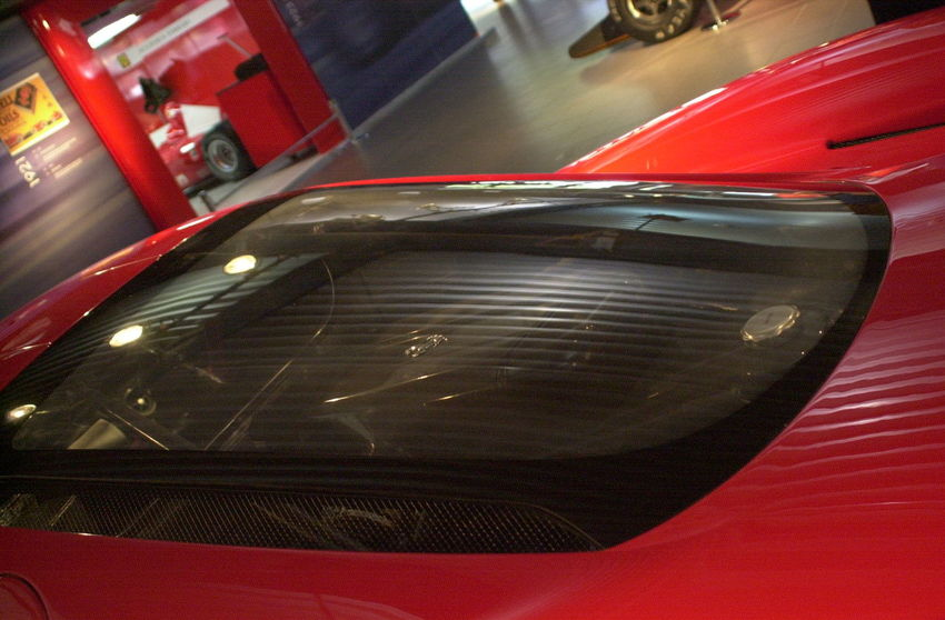 Red Ferrari Rear Window showing the Rare Engine and Raw Power Auto Museum Car Close-up Day Ferrari Ferrari World Ferrari 🚘🚘🚘👌👌🌐 Ferrariworld Indoors  Land Vehicle Mode Of Transport No People Red Red Ferrari Red Red Red! Shiny Transportation
