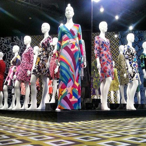 Lacma DianeVonFurstenburg DVF JourneyOfADress WrapDress Art Fashion LosAngeles California