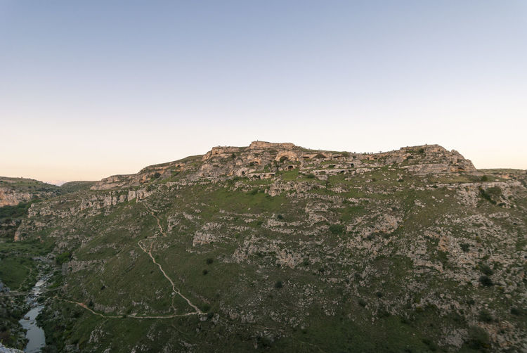 Beauty In Nature Carsismo Clear Sky Cliff Day Gravina Landscape Matera Mountain Murge Nature No People Outdoors Rock - Object Scenics Sky Sunset Nikon Tokina 11-16 F/2.8 D3000 EyeEmNewHere