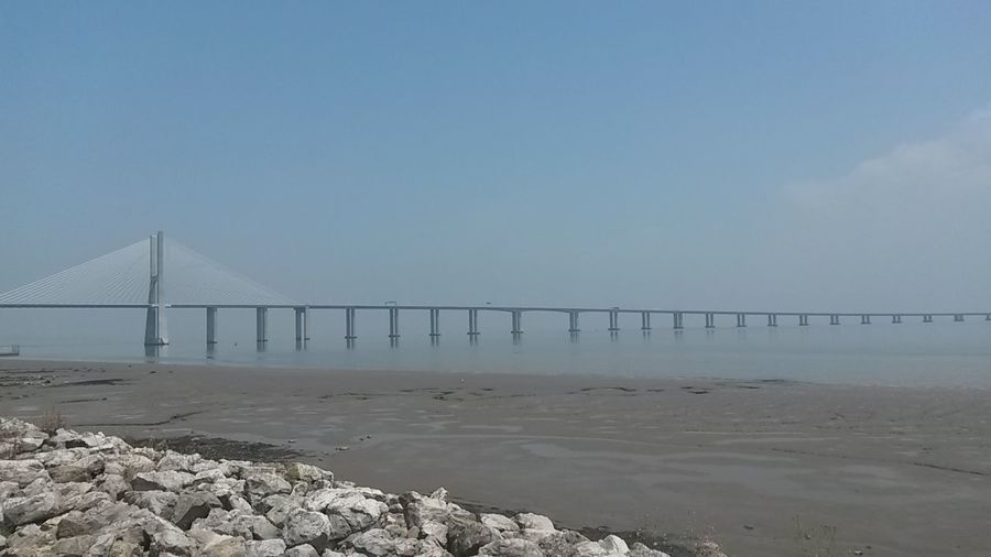 River View Tejo River Lisbon - Portugal Lisboa Portugal Bridge