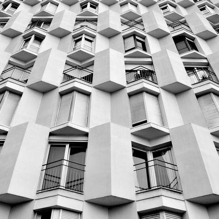 Barcelona Building Exterior Architecture Building Arquitectura Monochrome B&w Edificio Nikon Straight Out Of Camera