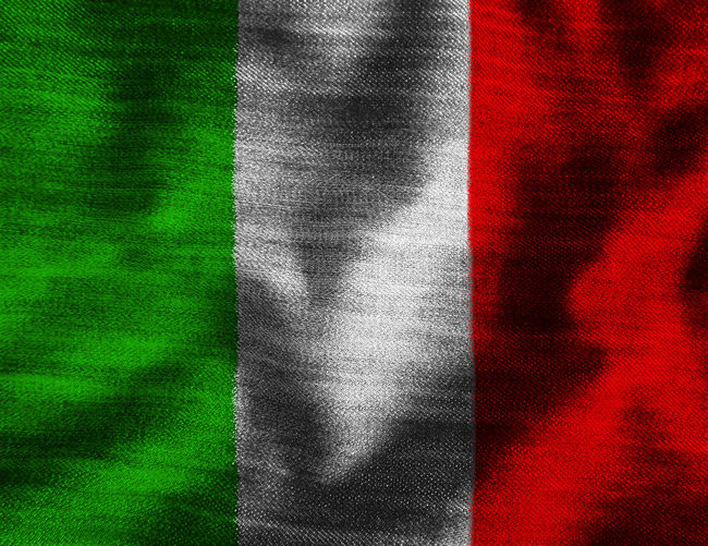 Italian flag Close-up Day Fabric Flag Full Frame Green Color Italy Italy Flag Nation No People Patriotism Pride Red Rome Rome Italy State Textile Textured