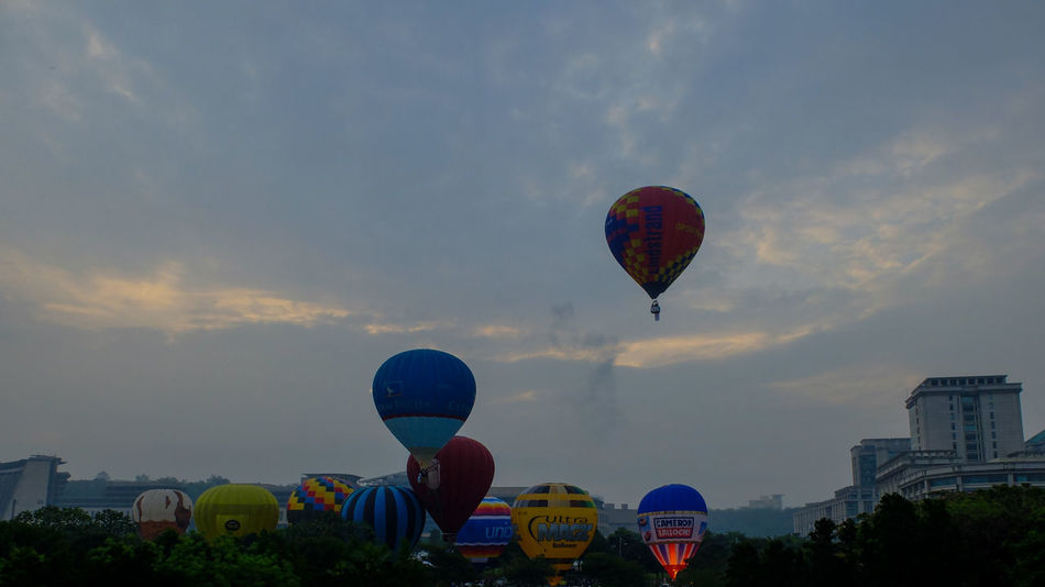 Hot Air Balloons Festival Sky Porn