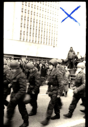 1991 01 13 Current History Defenders Of Freedom Day Independence January 13, 1991 Lithuania Lithuania History Lithuanian Supreme Council On January 13, Fourteen Defenders Of Freedom Were Murdered PEACEFUL PEOPLE PHOTOS: January, 1991 11 - 13th. Peaceful Protest Radio And Television Committee Building Soviet Army Occupation Soviet Occupation Zone Tanks Vilnius Army History History Photography Injured For Survival Parlament Soviet Army Tv Tower Vilnius