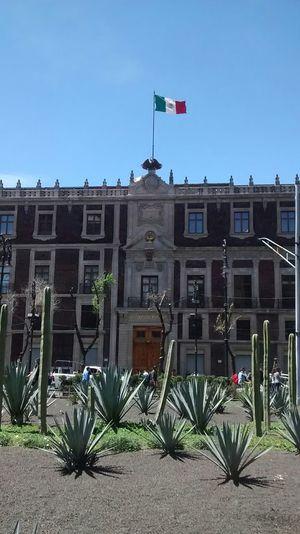 Architecture Edificio del Nacional Monte de Piedad, Centro Histórico, Ciudad de México.