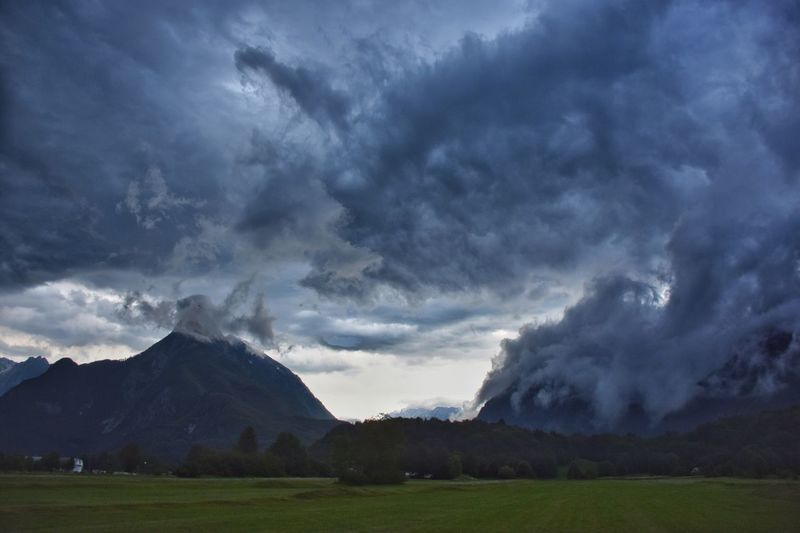 Bovec Cloud - Sky Clouds And Sky Cloudporn Nature