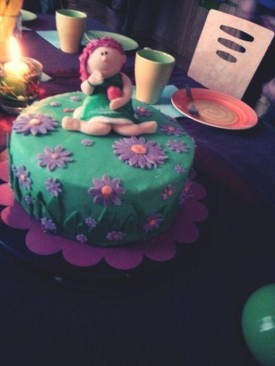 Friends Flowers Love Birthday Green Candle Girl Pink Cake Boyfriend