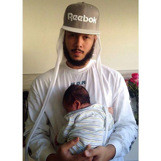 Durag Reebok Aesthetics Gorgeous Father & Son Cool Dad Street Fashion Fashion
