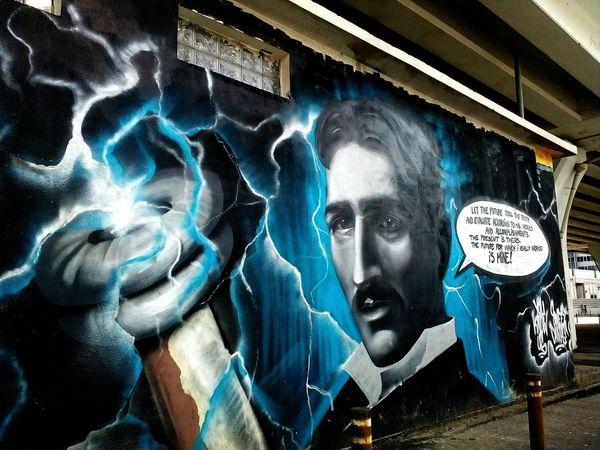 Urbanphotography UrbanART Graffiti Art Buchares Art Crusin Taking Pics While Driving Tesla