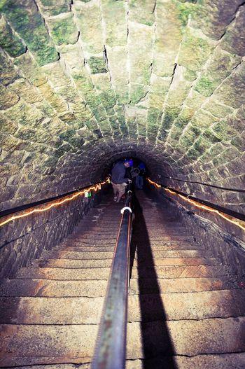Speedwell Cavern Derbyshire Steps Tunnel