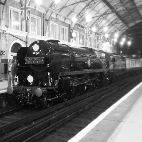British Pullman. Train Steam Steamtrain London