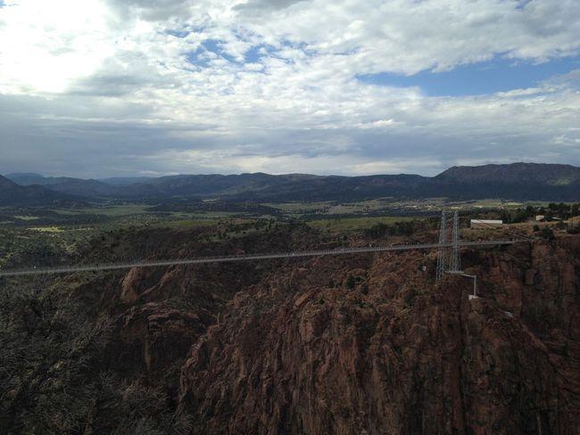 Royal Gorge Colorado Bridge Arkansas River