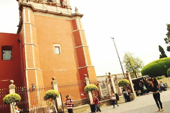 Sesionfotografica  Plaza De Armas Querétaro Querétaro Fotography Iglesia Centro Querétaro