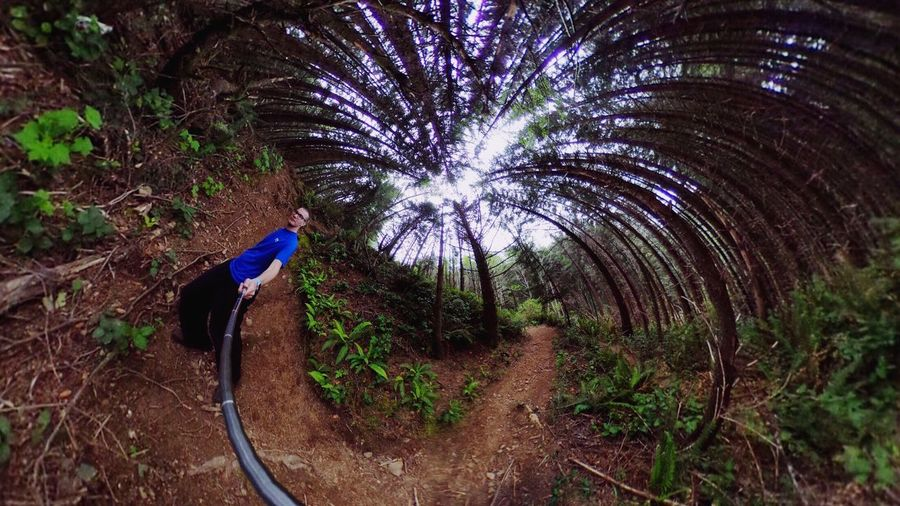 How's that for a Trippy Selfie ✌ (taken with Theta360 )